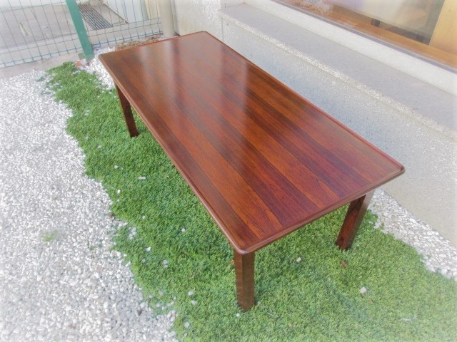 Nordic support table in rosewood.Nordic furniture in Porto.Vintage Furniture in Porto.Restoration of furniture in Porto.