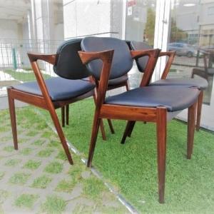 Cadeira tipo nórdico, desenho de Kai Kristiansen