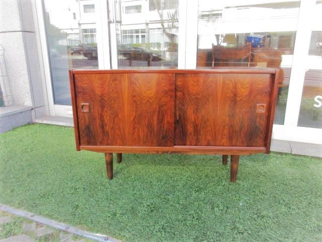 Nordic sideboard in rosewood.Nordic furniture in Porto.Vintage furniture in Porto.Furniture restoration in Porto.