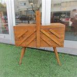 Vintage seamstress of Belgian origin. Nordic furniture in Porto. Vintage furniture in Porto. Restoration of furniture in Porto.