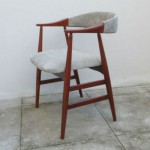Chair Nordic type. Nordic furniture. Vintage furniture. Classical furniture. Restoration.