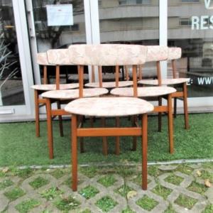 Cadeiras nórdicas produzidas pela Farstrup, modelo 210