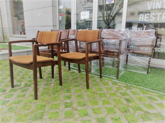 Nordic armchairs, designed by C E Ekstrom, for Albin i Hysseno. Nordic furniture in Porto. Vintage furniture in Porto. Furniture restoration in Porto
